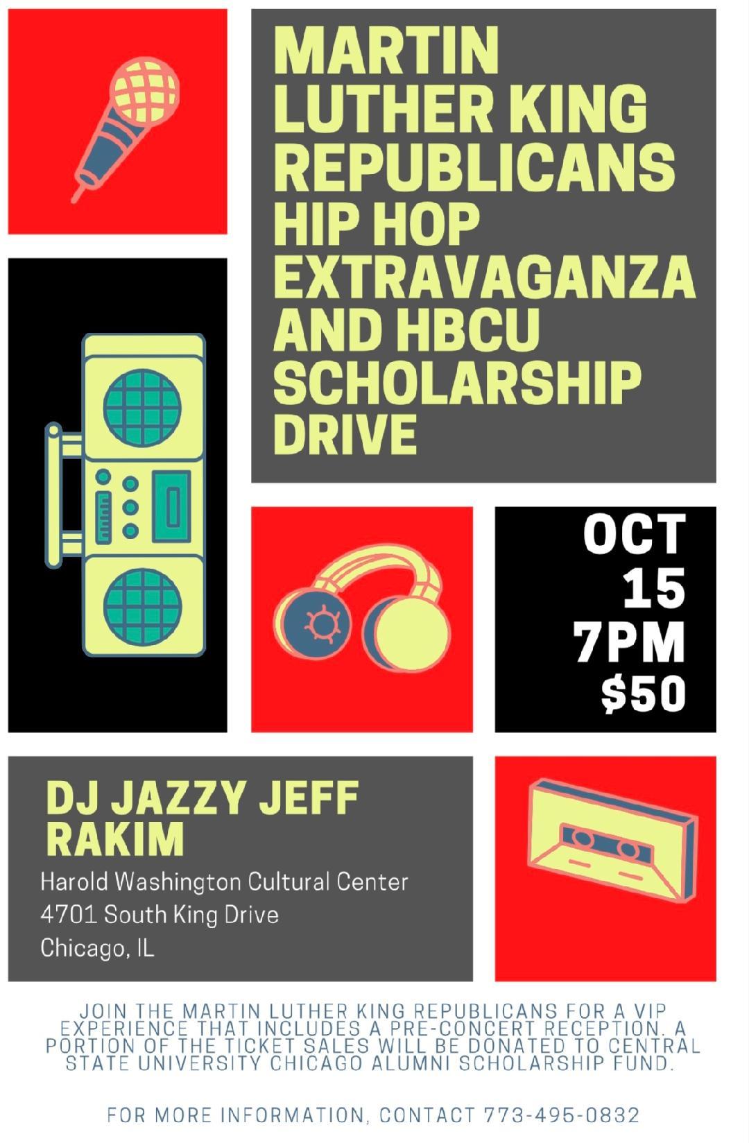 DJ Jazzy Jeff Rakim Event